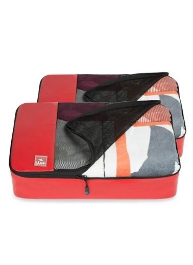 Fagel Travel 2Li Büyük Set Kırmızı